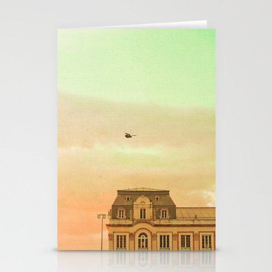 Fairy Tale Book (Retro and Vintage Urban, architecture photography) Stationery Cards