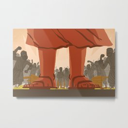 Den of Thieves (by Ward Jenkins) Metal Print