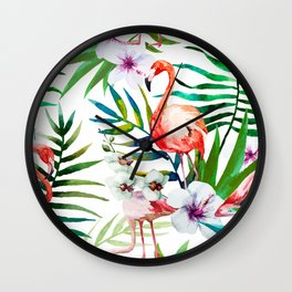 Tropical Birds vol.2 Wall Clock