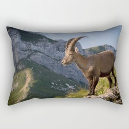 Capricorn in the Alps Rectangular Pillow