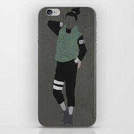 Shikamaru iPhone Skin