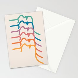 Boca Silhouettes Stationery Cards