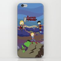 avenger iPhone & iPod Skins featuring Avenger Time! by Det Guiamoy