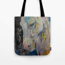 Hidden Heart Horse Tote Bag
