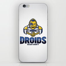 Desert County Droids iPhone & iPod Skin