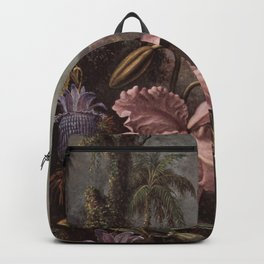 Orchid And Hummingbird 1880 By Martin Johnson Heade   Reproduction Backpack