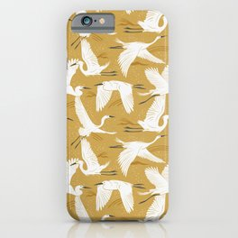 Soaring Wings - Goldenrod Yellow iPhone Case