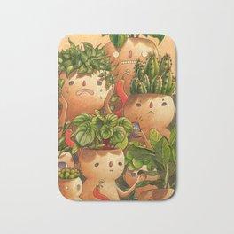 Plant-minded Bath Mat