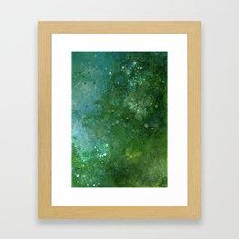 Emeralds Framed Art Print
