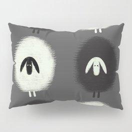 Sheep black & white Pillow Sham