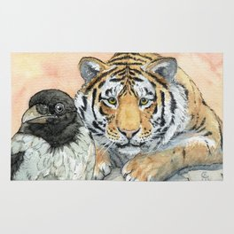 Crow and Tiger c031 Rug
