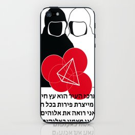 Jew Boy Vs. Reaper Man iPhone Skin