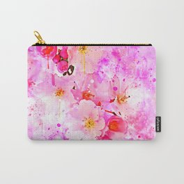 japanese cherry blossom wsstd Carry-All Pouch