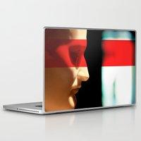 napoleon Laptop & iPad Skins featuring Silent Napoleon by Xbird
