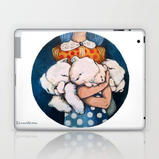 Goodnight story Laptop & iPad Skin