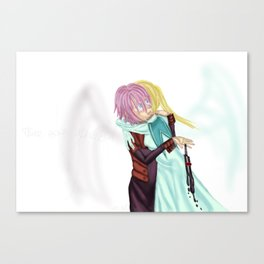 There Goes My Angel | fanart Canvas Print