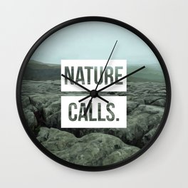 Nature Calls | 9 Wall Clock