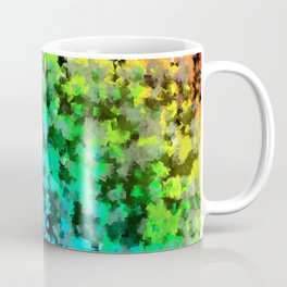 Starrider -- Abstract cubist color expansion Coffee Mug