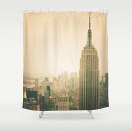 New York City - Empire State Building Shower Curtain