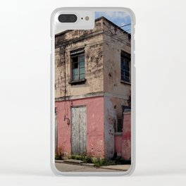 Neapolitan colours Clear iPhone Case