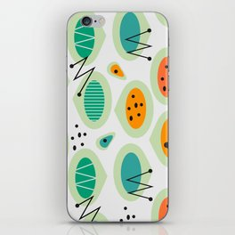 Mid-century abstraction iPhone Skin