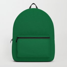 Dartmouth Green - solid color Backpack