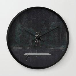 Distractions II Wall Clock