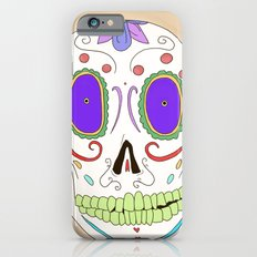 Candied Skull Slim Case iPhone 6s