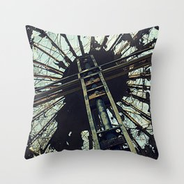 Hell House Cross Throw Pillow