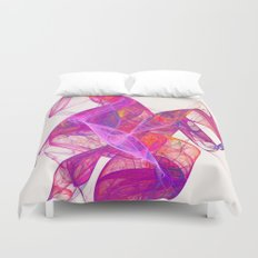Pink smoke Duvet Cover