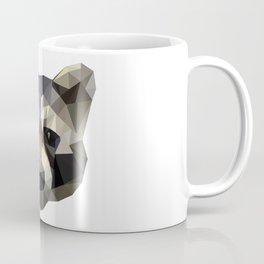Low poly trash panda Coffee Mug
