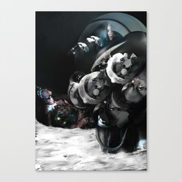 In the voiceless Night Canvas Print