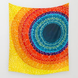 African American Masterpiece The Eclipse by Alma Thomas Wall Tapestry