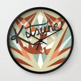 Kistune Wall Clock