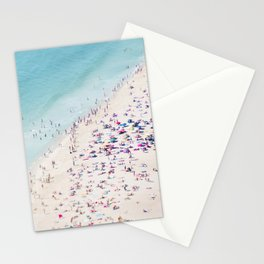 beach - summer love Stationery Cards