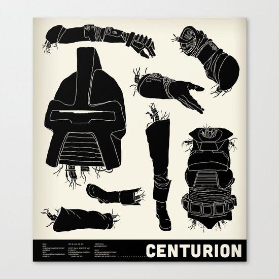 Decommissioned: Centurion  Canvas Print