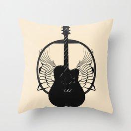 Rock N Royalty Throw Pillow