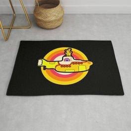 Yellow Submarine - Pop Art Rug