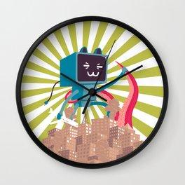 Go Go Mecha Kitty Wall Clock