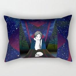 Memento Mori Rectangular Pillow