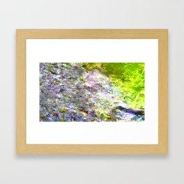 Moshed Forest Landscape Framed Art Print