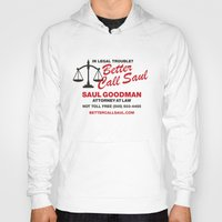better call saul Hoodies featuring Better Call Saul  by Laundry Factory