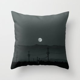 aries moon ii Throw Pillow