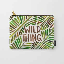 Wild Thing – Green Palette Carry-All Pouch