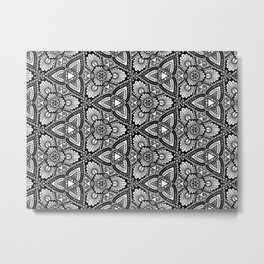 Mesmeric Patterns Metal Print
