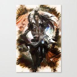 League of Legends PULSEFIRE CAITLYN Canvas Print