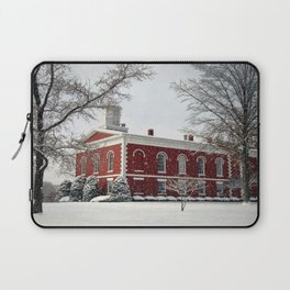 Side View of the Iron County Courthouse Laptop Sleeve