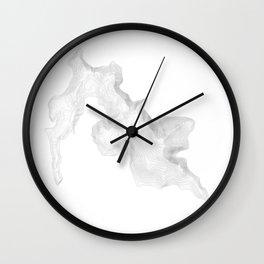 Pikes Peak Colorado Topographic Art Wall Clock