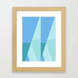 Heading to the Sea Framed Art Print