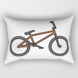 #17 BMX Rectangular Pillow
